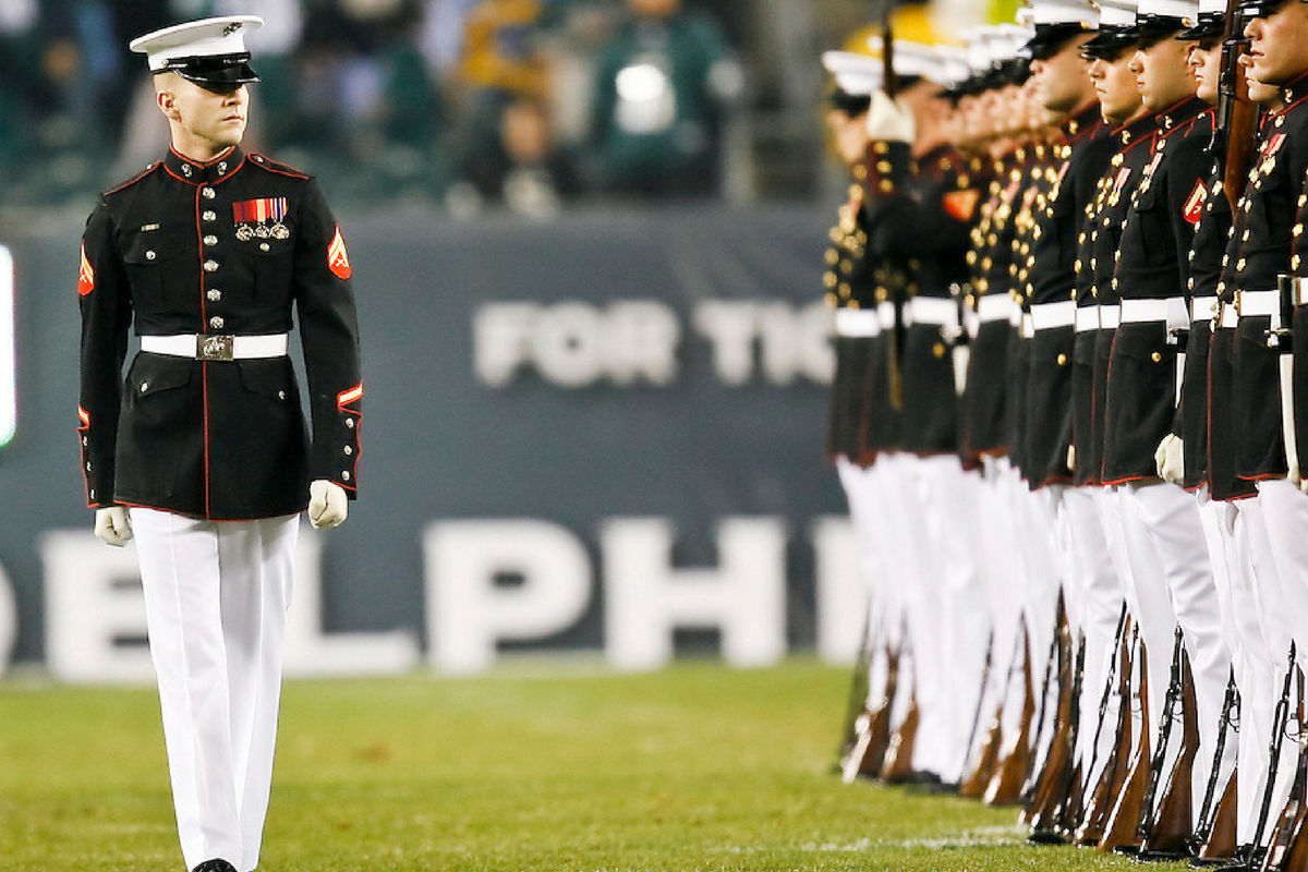 This is what happens when a U.S. Marine writes letter to NFL over