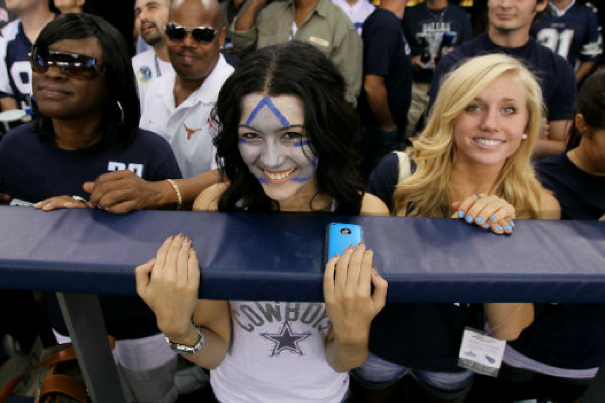 Why These Women On Facebook Absolutely Love The Cowboys